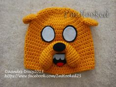 Free Crochet Pattern: Jake The Dog Hat