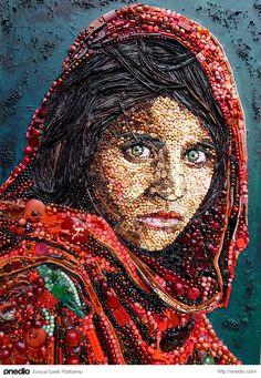 'Afgan kızı' Şarbat Gula