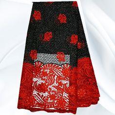 Cheap Js41 5 rojo + negro alta calidad African cordón suizo con piedras venta al por mayor del cordón cordón de tela para la mujer vestido en Stock, Compro Calidad Encajes directamente de los surtidores de China:                                                                                    Bienvenido a angela paño moda en líne