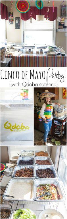 Cinco de Mayo party, cinco de mayo party ideas, cinco de mayo party with @qdobawi catering, how to throw a cinco de mayo party