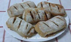 As Receitas Saborosas: Pão com Chouriço