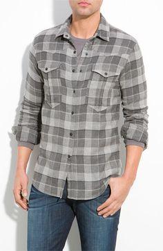 Joe's 'Relax' Plaid Western Shirt
