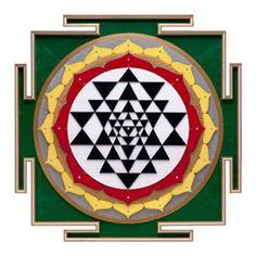 Yantra van de godin Shri