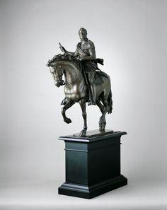 Giovanni da Bologna, called Giambologna  Equestrian Statuette of Ferdinando I de' Medici, c.1600