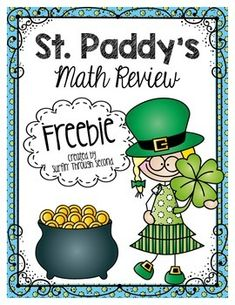 This is a set of 6 fun printables that you can use Holiday Activities, Math Activities, St Patrick Day Activities, Second Grade Math, Grade 2, St Patricks Day, Saint Patricks, St Pattys, Teaching Math