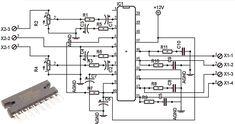 Car power amplifier with TA82010AH