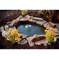 Ultimate Pond Products Pond in a Box - Great Affordable Backyard ideas Small Backyard Ponds, Backyard Water Feature, Small Backyard Design, Small Ponds, Backyard Waterfalls, Backyard Ideas, Garden Ideas, Small Water Gardens, Fish Pond Gardens