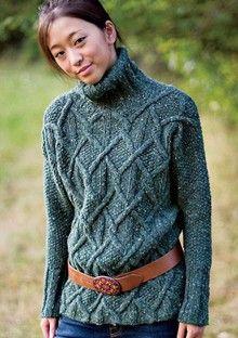 design senza tempo c15d0 93f8c 659 fantastiche immagini su Maglia : Aran & cables: pullover ...