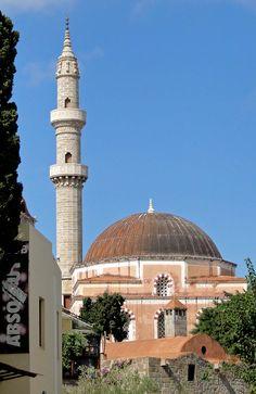 Suleiman Mosque (Kanuni Sultan Süleyman camii, Rodos) (Rhodes), Greece