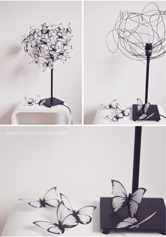 Quiero esta lámpara, a través del Blog Mi Cesta de Mimbre.  http://www.micestademimbre.com/2013/01/mis-mariposas.html?utm_source=feedburner_medium=email_campaign=Feed%3A+micestademimbre%2FCzSN+%28Mi+cesta+de+mimbre%29