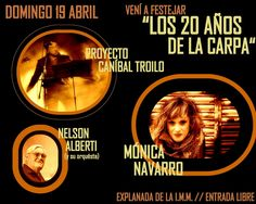 WEBNODE :: MÓNICA NAVARRO - FESTEJO 20 AÑOS CARPA IM :: Celia Abramavicius