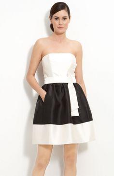 462f56e6be black white simple dress Prom Dresses Blue