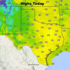 Sunday's Weather Roundup - Coastal showers, elsewhere dry and warm Happy Sunday everyone! The upper level Low that's been meandering around the state the past few day is heading east and taking its rain chances with it. Scattered rain showers are expected this morning and throughout the day along the coast, but other than that,dry conditions are ex... Read the whole article at http://www.texasstormchasers.com/?p=32072 - Jenny Brown