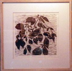 Gesshel - Woodcuts, Mono Prints and Drawings at Red Hook Coffee & Tea