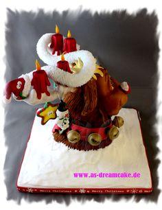 Reindeer cake Topper Details