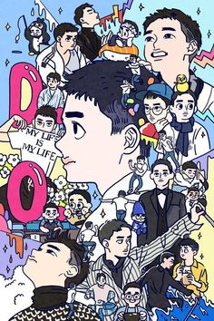 Fan art of Do Kyung-soo (도경수) also known mononymously as D.O. (디오) of EXO (엑소) for his birthday on 170112. || ©langmanpanda on FanBook. | 랑판 (@Langmanpanda) on Twitter. ↑↑ Check out the link to see the original fan art and the artist's social media account! ↑↑