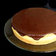Boston Cream Pie-made for dessert auction. I didn't get to try it, but I tasted the cake, filling and topping while cooking. Good stuff and it's so pretty!