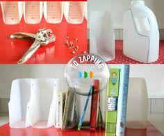 Manualidades con botellas de plástico. Hoy queremos proponeros una de las manualidades con botellas de plástico para reciclar, sencilla y útil que hemos con