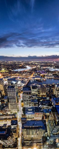 Sydney Tower view, Sydney, Australia