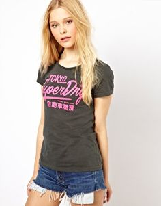 Superdry Toyko T-Shirt On The High Street, Asos Online Shopping, Superdry, Latest Fashion Clothes, Women Wear, Tees, T Shirt, Beauty, Collection