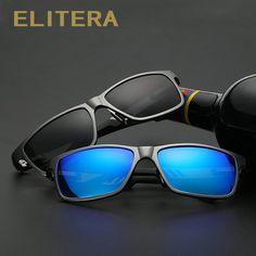 0836554711c7 ELITERA Rectangle Polarized Sunglasses For Men Online