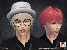Sims 4 CC's - The Best: Hair by Wings