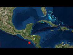 Strong 7.0 Earthquake Hits Off El Salvador/Nicaragua Coast As Hurricane ...