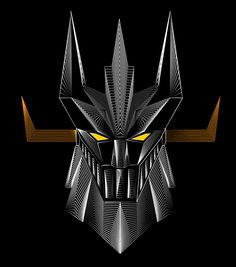 Line Art on Behance Patrick Seymour, Gundam, Battle Robots, Robot Cartoon, Father Time, Japanese Toys, Mecha Anime, Super Robot, Cowboy Bebop