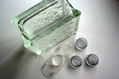 Lighted Glass Block Crafts | Obsessively Crafting: Quality Glass Block Review