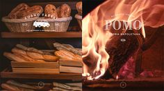 Full width, attractive images are supported with beautiful typography and clean layout in this restaurant website for Pomo. Makes the food look scrumptious.