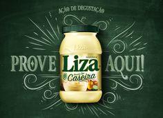 """Confira este projeto do @Behance: """"Ação de Degustação Liza Caseira"""" https://www.behance.net/gallery/43259655/Acao-de-Degustacao-Liza-Caseira"""