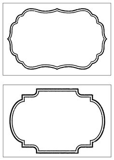 Looking for a Free Printable Blank Labels Template. We have Free Printable Blank Labels Template and the other about Printable Diagram it free. Party Food Label Template, Address Label Template, Party Food Labels, Vintage Printable, Printable Name Tags, Printable Labels, Free Printables, Vintage Labels, Name Tag Templates
