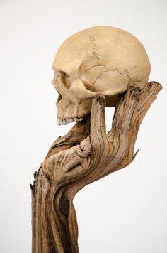 Les Céramiques surréalistes de Christopher David White ressemblent à du Bois…