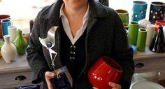 Lore Camillo à la tête de l'entreprise familiale «La Poterie d'Albi»./Photo DDM, Daniel Carrière