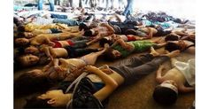 Martyrs of the chemical attack in Al-Gota near Damascus in and it shows that they are all almost from little children. Edward Snowden, Syria Today, Syria Conflict, Syrian Children, Chemical Weapon, Amnesty International, Refugee Crisis, British Government, Syrian Refugees