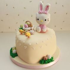 Hello Kitty Easter Cake