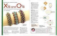Схемы: Браслеты. Архив Beads and Button - Special 2006-2009 гг