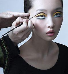 Shu Uemura Celebrates Anniversary With Zing - Makeup For Life Fall Makeup, Lip Makeup, Halloween Makeup, Makeup Eyeshadow, Beauty Makeup, Makeup Box, Beautiful Mask, Gorgeous Makeup, Creative Makeup