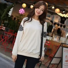 Buy 'CLICK – Raglan-Sleeve Embroidered Sweatshirt' with Free International Shipping at YesStyle.com. Browse and shop for thousands of Asian fashion items from South Korea and more!