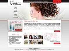 Hair salons webdesign « Krakweb.pl »