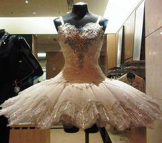 Costume for San Francisco Ballet www.theworlddances.com/ #costumes #tutu #dance