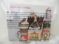NIB Dept 56 North Pole Cocoa Chocolate Works FREE SHIPPING