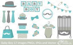 Baby boy by Olillia on Creative Market