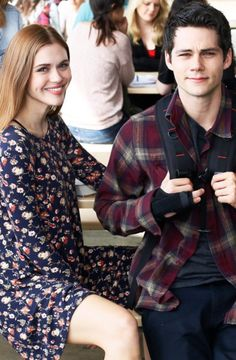 Find images and videos about teen wolf, stiles stilinski and lydia martin on We Heart It - the app to get lost in what you love. Teen Wolf Stydia, Teen Wolf Boys, Teen Wolf Stiles, Teen Wolf Cast, Styles And Lydia, Lydia Martin Style, Meninos Teen Wolf, Dylan Obrian, Bae