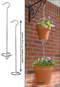 Two-Tier Plant Hanger - Lee Valley Tools