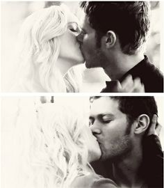 "Haha great acting from Joseph Morgan and Candice Accola during their first kiss because you can totally tell Klaus was trying so hard to be all gentlemanly and respectful but thinking ""Soo it's been awhile now and she's definitely not pulling away and this is definitely turning into a real kiss..dare I even dream it...could this be the day..."" and Caroline's like ""Dude, just whoosh me against a tree already"""