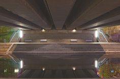 Beneath Vitruvian Bridge by Wilkinswerks  on 500px
