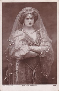 From what I can infer from her portraits, Miss Lily Brayton was often peevish.