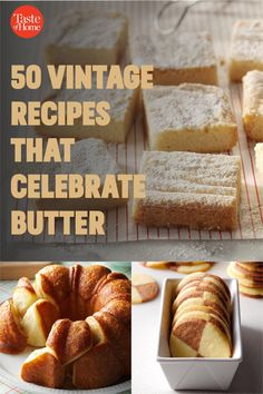 Sure, we like butter slathered ON our baked goodies, but we also love it—lots of it—IN our baked goodies. These treats, including butter cookies, butter cakes and more, are loaded up with your favorite dairy product. Group Recipes, Bar Recipes, Group Meals, Cookie Recipes, Coconut Pecan Cookies, Butter Cookies Recipe, Butter Pecan, Butter Pound Cake, Butter Cakes