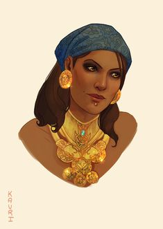 Isabela She's my hero. I pretty much headcanon that she's slept with the entire Dragon age cast… because that's what I want to do. Plus… she is just so fucking badass! If you leave her with the Arishock it's because you want him to get shived in the...
